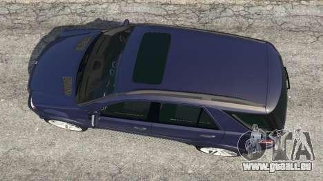GTA 5 Mercedes-Benz ML63 (W164) 2009 Rückansicht