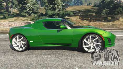 Tesla Roadster Sport 2011 pour GTA 5