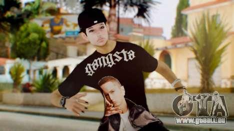Skin Swagger Sasuke Uchiha pour GTA San Andreas
