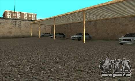 Renouvellement des auto-écoles dans le quartier pour GTA San Andreas cinquième écran