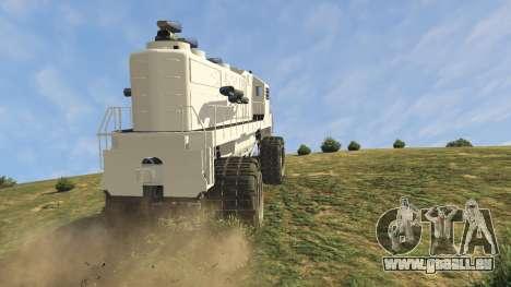 GTA 5 Monster Train droite vue latérale