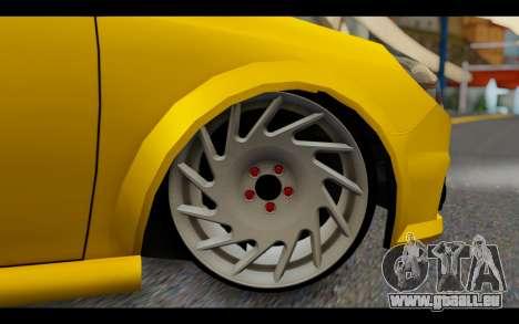 Opel Vectra Special für GTA San Andreas zurück linke Ansicht