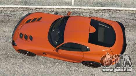 Dodge Viper SRT 2014 pour GTA 5