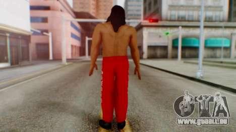 The Great Khali pour GTA San Andreas troisième écran