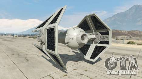 GTA 5 TIE Interceptor dritten Screenshot