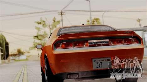 Dodge Challenger SRT-8 2010 für GTA San Andreas linke Ansicht