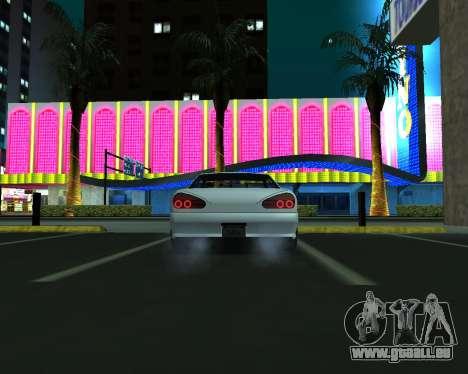 Elegy C35 pour GTA San Andreas vue arrière