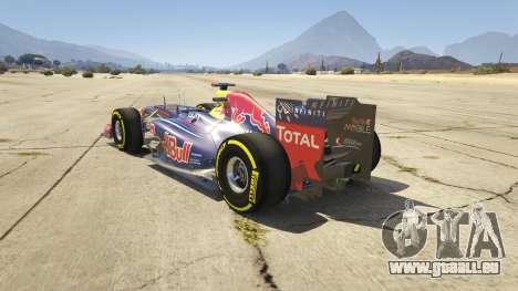 GTA 5 Red Bull F1 v2 redux hinten links Seitenansicht
