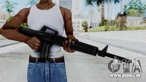 GTA 3 M16 pour GTA San Andreas troisième écran