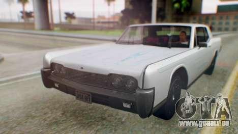 GTA 5 Vapid Chino Tunable PJ pour GTA San Andreas vue arrière