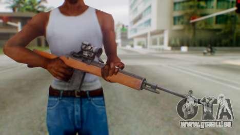 Arma2 M14 Assault Rifle pour GTA San Andreas troisième écran