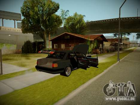 Audi 100 C4 Belarus Edition pour GTA San Andreas vue arrière