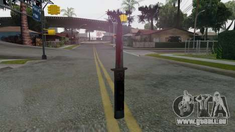 GTA 5 Switchblade für GTA San Andreas