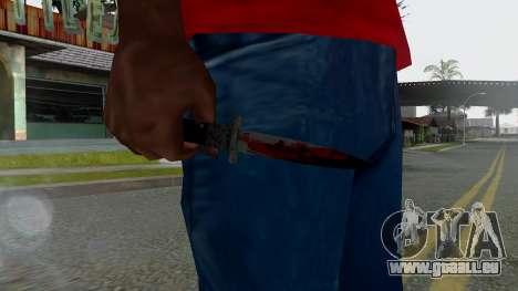 GTA 5 Switchblade pour GTA San Andreas troisième écran
