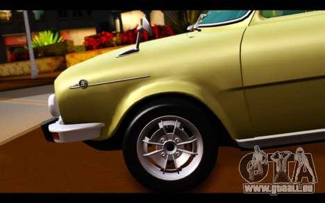 Skoda 100 pour GTA San Andreas sur la vue arrière gauche