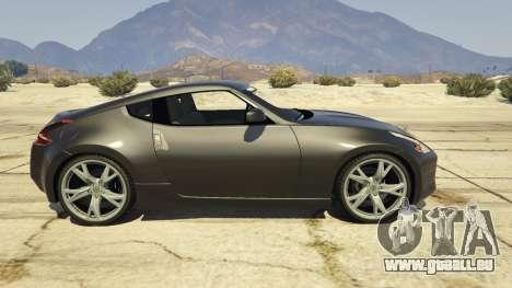 GTA 5 Nissan 370z v2.0 linke Seitenansicht