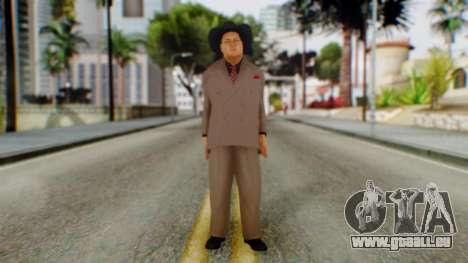 WWE Jim Ross pour GTA San Andreas deuxième écran