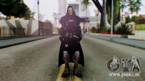 Reaper - Overwatch pour GTA San Andreas deuxième écran