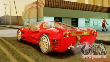 Ferrari P7 Coupè für GTA San Andreas linke Ansicht