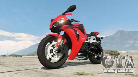 Honda CBR1000RR [Red] für GTA 5