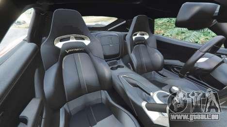 Dodge Viper SRT 2014 für GTA 5