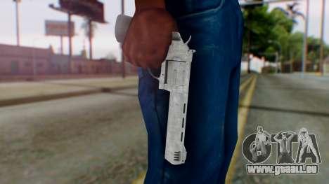 GTA 5 Platinum Revolver pour GTA San Andreas troisième écran