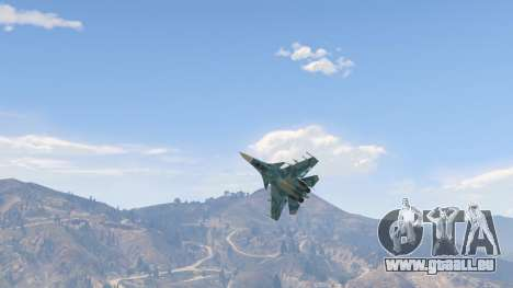 GTA 5 Su-33 quatrième capture d'écran