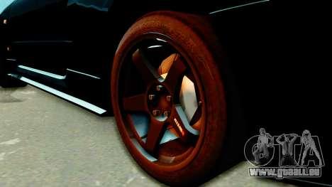 Nissan Skyline GT-R Nismo Tuned pour GTA San Andreas sur la vue arrière gauche