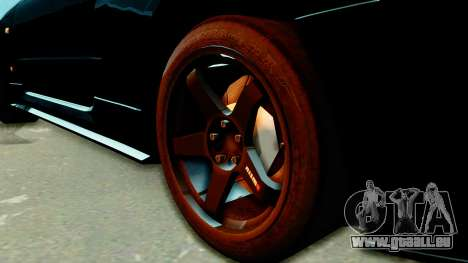 Nissan Skyline GT-R Nismo Tuned für GTA San Andreas zurück linke Ansicht