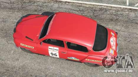 GTA 5 Saab 96 [rally] vue arrière