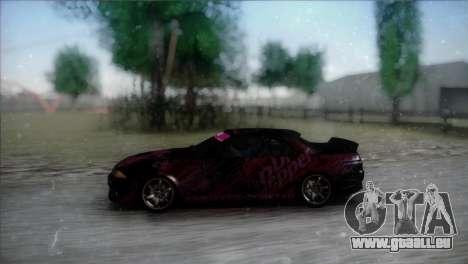 Nissan GT-R R32 Tuning Factory pour GTA San Andreas laissé vue