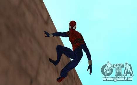 Sensational Spider-Man Ben Reilly en Robinosuke pour GTA San Andreas deuxième écran
