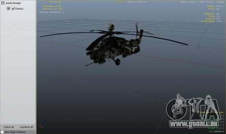 GTA 5 Mi-28 Night hunter neunter Screenshot