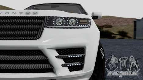 GTA 5 Gallivanter Baller LE LWB Arm IVF pour GTA San Andreas vue arrière