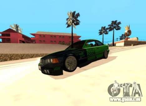 BMW E36 320i für GTA San Andreas Rückansicht