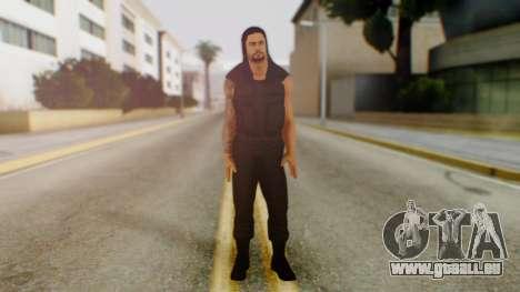 Roman Reigns pour GTA San Andreas deuxième écran