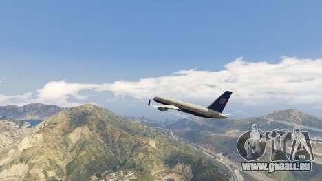 GTA 5 Boeing 757-200 septième capture d'écran