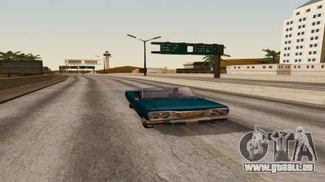 ENB by Robert v8.4 pour GTA San Andreas troisième écran