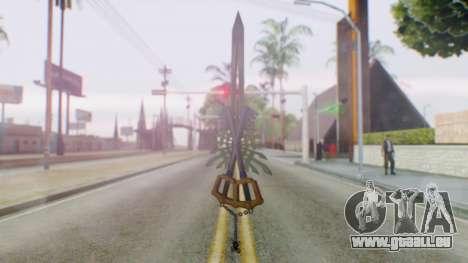 KHBBSFM - X-Blade pour GTA San Andreas troisième écran