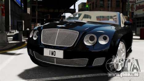 Bentley Continental 2010 Flying Spur Beta für GTA 4