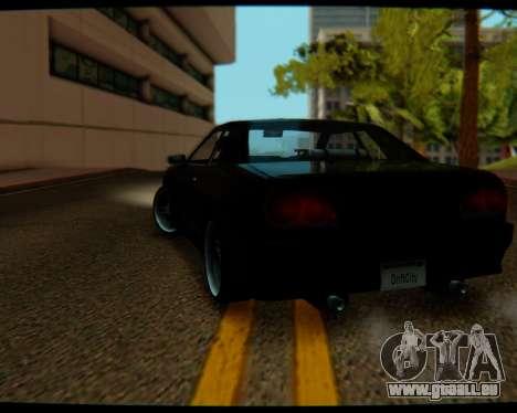 Elegy Stock HD by Balalaika für GTA San Andreas linke Ansicht