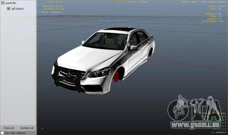 Mercedes-Benz E63 AMG Unmarked Cruiser pour GTA 5