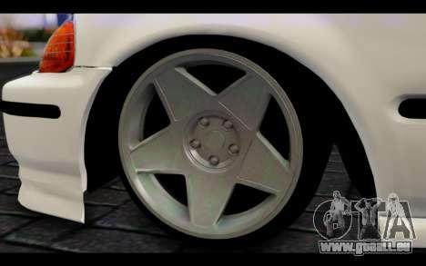 Honda Civic 1.6 für GTA San Andreas zurück linke Ansicht