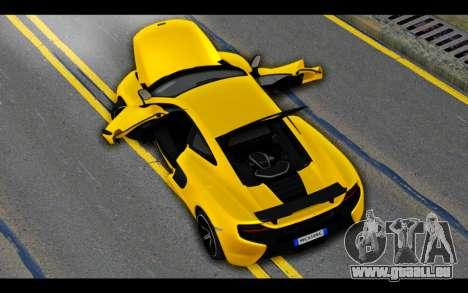 McLaren 650S Coupe für GTA San Andreas