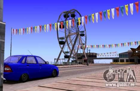 VAZ 2170 KBR für GTA San Andreas Innenansicht