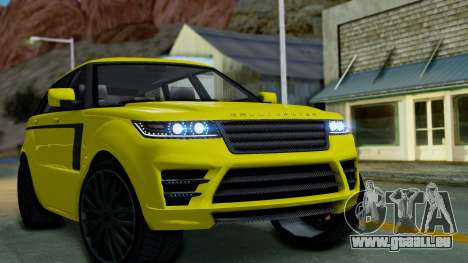 GTA 5 Gallivanter Baller LE für GTA San Andreas