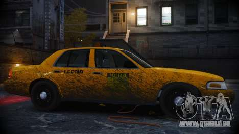 Ford Crown Victoria L.C.C Taxi für GTA 4 linke Ansicht