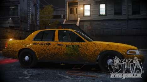 Ford Crown Victoria L.C.C Taxi pour GTA 4 est une gauche