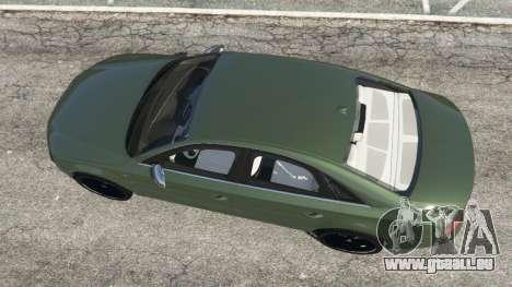 GTA 5 Audi S8 Quattro 2013 v1.2 vue arrière