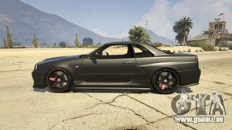 Nissan Skyline GTR R34 pour GTA 5